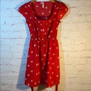 *XHILERATION BICYCLE THEMED SUMMER DRESS